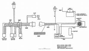 Dixon Ztr 361  1990  Parts Diagram For Wiring Assembly