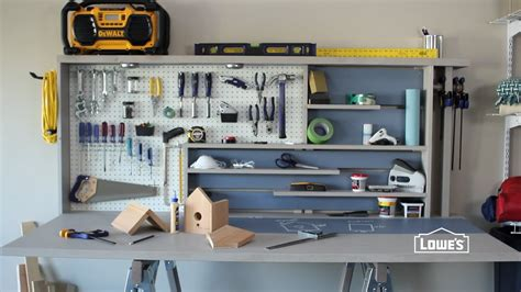 build  garage workbench youtube