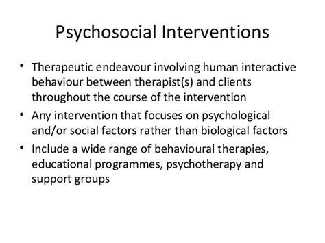 psychosocial interventions  dementia care