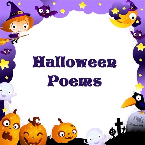 halloween poem printable halloween activities