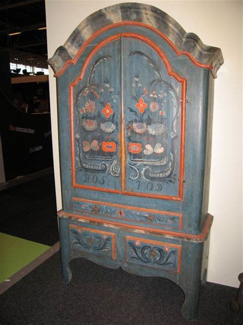 painted cupboard from jamtland sweden decorative painting cas painted