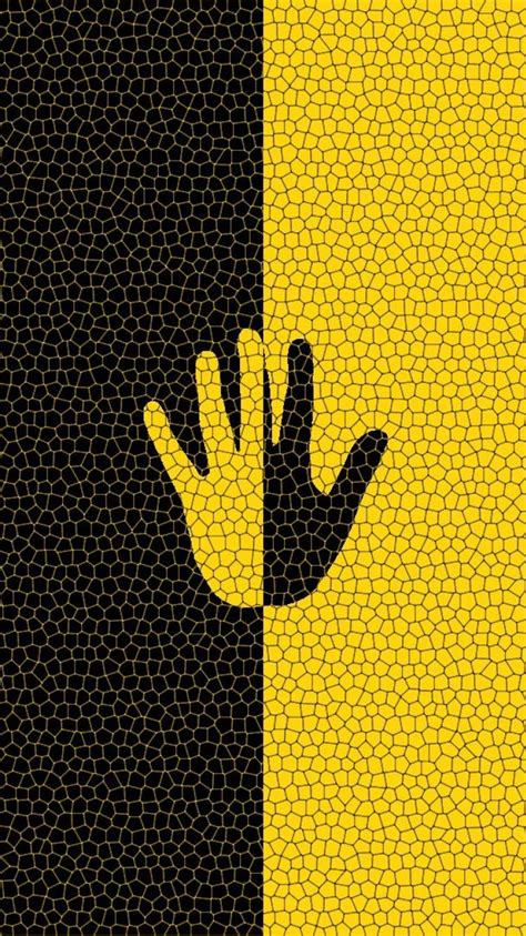 Black And Yellow Wallpaper Iphone X by Yellow And Black Iphone Background With 750x1334