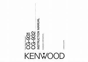Kenwood Cg-931