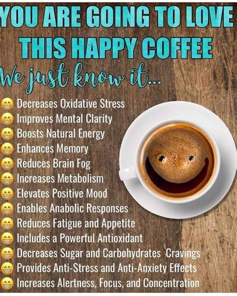 Some scientific studies have suggested that coffee can also reduce the risk of several health issues. Happy Coffee is the NEW Healthy Way | Happy coffee, Happy hormones