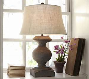 baluster table lamp pottery barn With barn lamps for sale