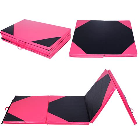 gymnastics mats ebay 4 x10 x2 quot gymnastics mat thick folding panel fitness