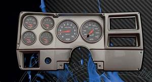 84-87 Chevy Truck Ba Dash W   Sport Comp Gauges