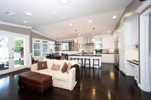 17 open concept kitchen living room design ideas style for Kitchen and living room designs