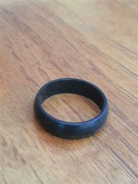 non conductive band for my lineman my lineman three wedding ring