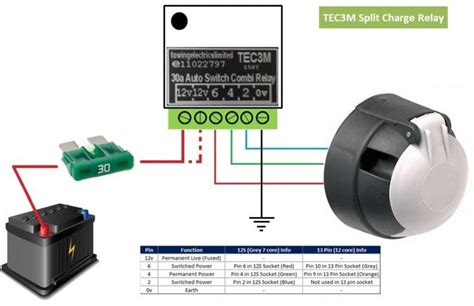 tec3m split charge relay water fed pole window cleaning window cleaning uk s 1
