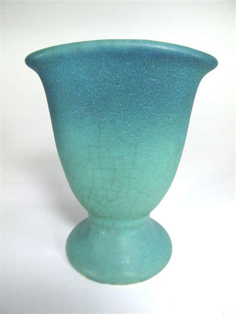 van briggle art pottery fan vase from garygermer on ruby lane