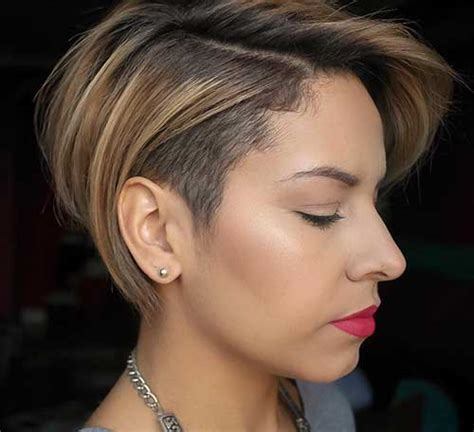 Chic Long Pixie Haircut Pictures   Short Hairstyles 2016
