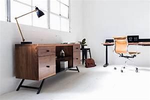 Minimalistische Holzmöbel fürs Büro von Harkavy Furniture ...