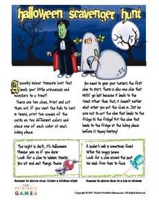 Halloween Treasure Hunt Riddles Adults by Halloween Party Games Sure To Boost Fun For Your Celebration