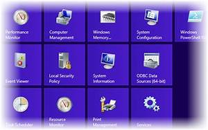 How To Add Administrative Tools To The Windows 8 Start
