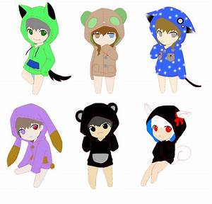 Chibi Friends by homeworkhater on DeviantArt