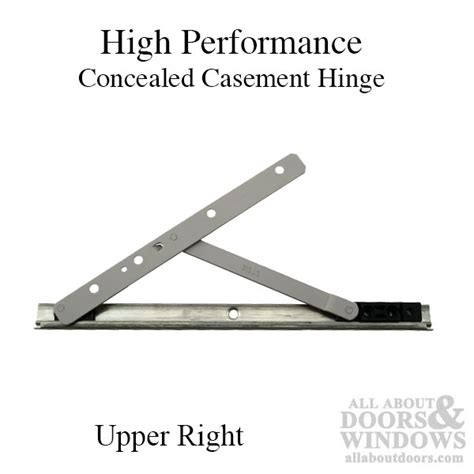 high performance concealed casement hinge upper