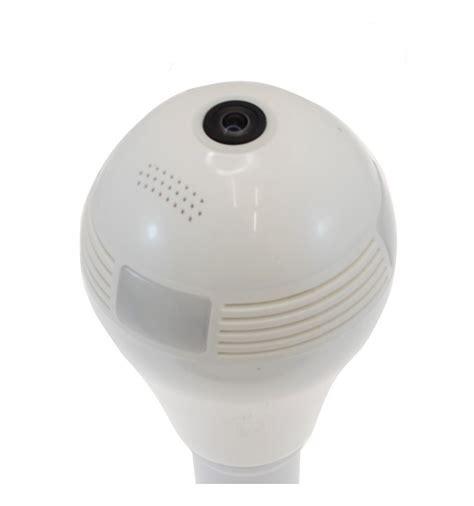 wifi ip light bulb covert cctv wi fi ip