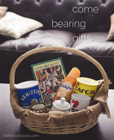 Check out our coffee gift basket selection for the very best in unique or custom, handmade pieces from our coffee shops. Come Bearing Coffee Gifts #CreateDelight » Penelopes Oasis