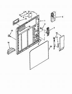 Inner Door Diagram  U0026 Parts List For Model 66515752000