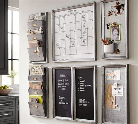 kitchen wall organizer system the best family command center options organization 6430