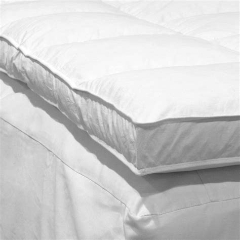 feather mattress topper etc der3010 feather bed mattress topper atg stores