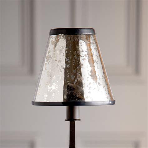 mercury glass chandeliers mercury glass chandelier shade ballard designs