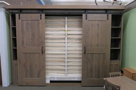 barn door murphy bed dutch haus custom furniture