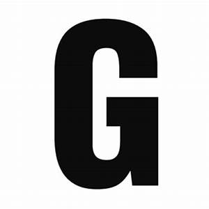 solid capital g With giant letter g