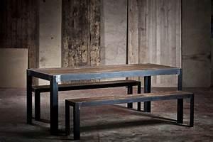 Table Chene Et Metal : 52 id es d co de table ~ Teatrodelosmanantiales.com Idées de Décoration