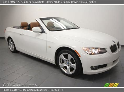 2010 Bmw 328i Convertible by Alpine White 2010 Bmw 3 Series 328i Convertible Saddle