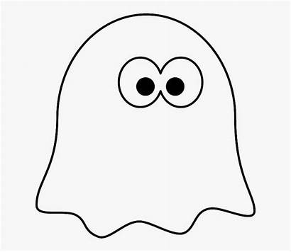 Ghost Coloring Template Printable Classroom Clipart Clipartkey