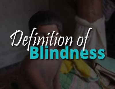 definition of legally blind india changes definition of blindness as per who check