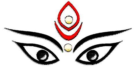 Durga Maa Face Clip Art