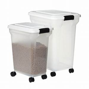 iris pet food containers the container store With ant proof dog food container