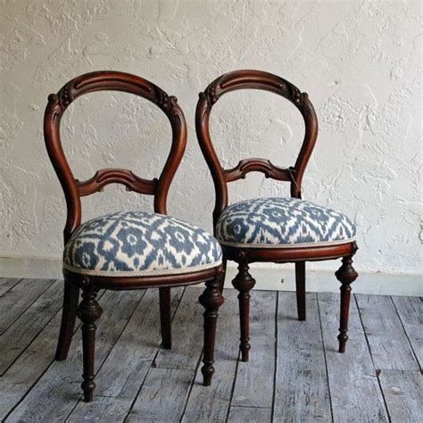 Upholstery For Dining Chairs by 17 Best Ideas About Recover Dining Chairs On