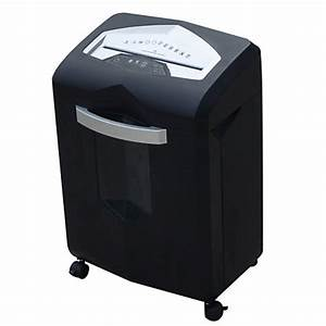 ativa 14 sheet micro cut shredder blacksilver by office With office max document shredding services