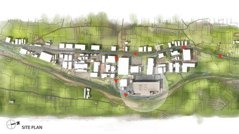 building site plan gallery of eurogida factory administrative building öney