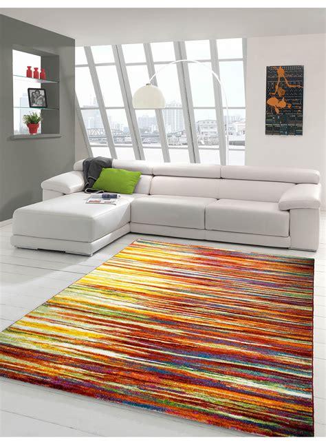 tapis de salon rayonara multicolore