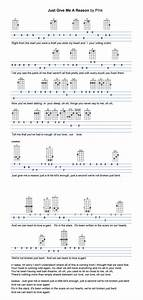 Guitar Chords Chart With Fingers Just Give Me A Reason Ukulele Tabs In 2019 Ukulele