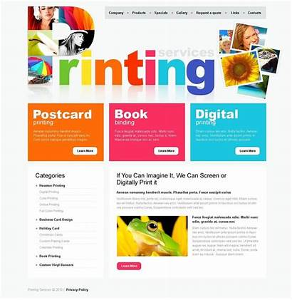 Website Templates Psd Template Ad Company Flyer