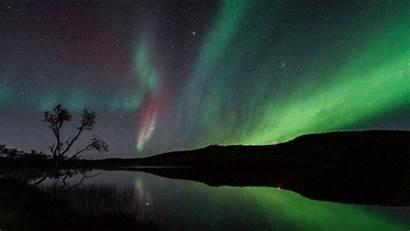 Animated Nature Sky Night Gifs Polar Aurora