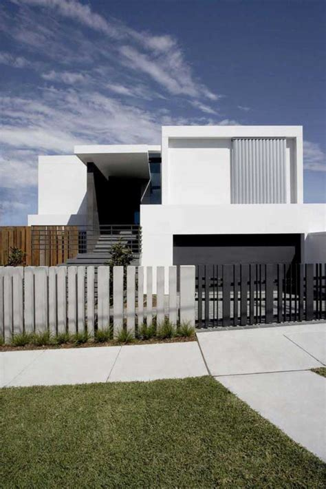 fence gate design images minimalist house modern house design front fence black white