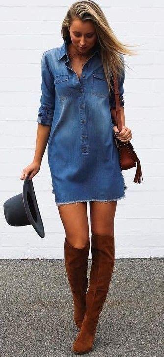 denim dress outfits ideas  pinterest denim summer dresses denim dress outfit