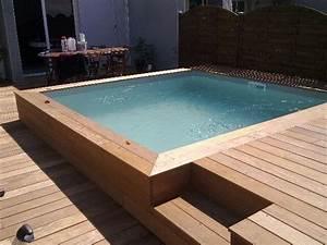 construction, pose, vente, aménagement de terrasses bois autour de sa piscine à Nimes 30