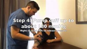 How To Take A Manual Blood Pressure