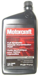 motorcraft full synthetic manual transmission fluid