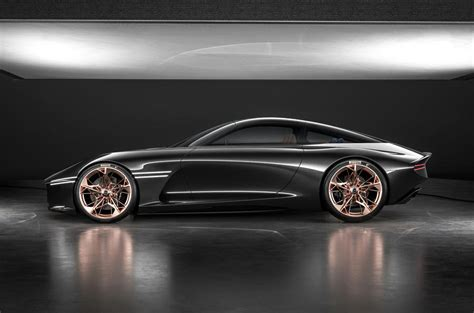 genesis essentia concept previews electric gt set autocar
