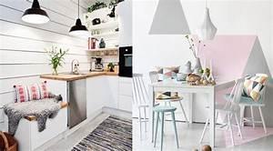 Cuisine scandinave 30 idees de cuisine scandinave for Idee deco cuisine avec dressing scandinave