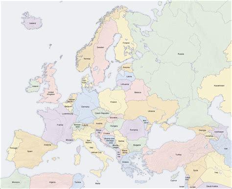 map of modern europe modern europe political map ap hug maps baltic region